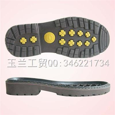 劳保、户外底、工作鞋专用RB底e-8886