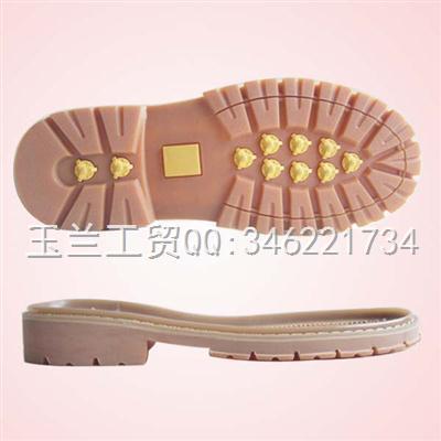 劳保、户外底、工作鞋专用RB底e-9887