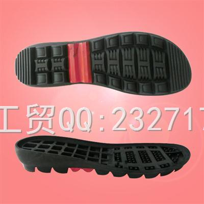 RB橡胶成型底L-B6456/34-39#女款