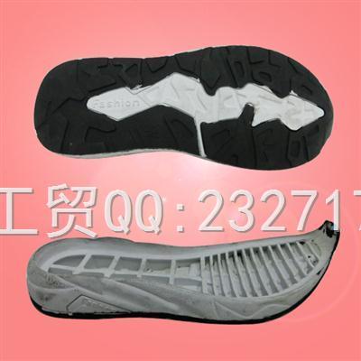 童鞋RB橡胶成型底V-15009/26-37#