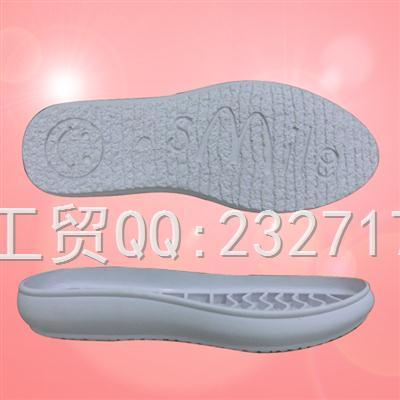RB橡胶成型底休闲女款1060-F1237/35-39#