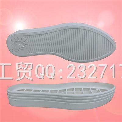 RB橡胶成型底休闲女款1060-F1256/34-40#
