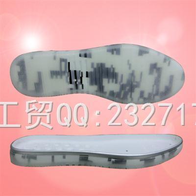 男组合PU聚氨酯+RB橡胶休闲k-1608-1/38-43#