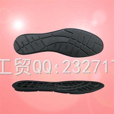 外销欧线TPR成型1006-1202/39-45#(5mm)男款