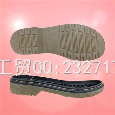 外销欧系TPR成型女款0100-1008/36-41#(6.67mm)