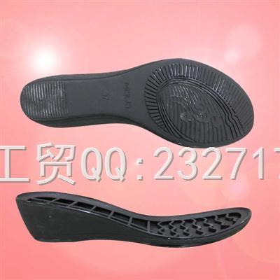 TPU成型外销欧系女款0100-1316/36-41#(5mm)