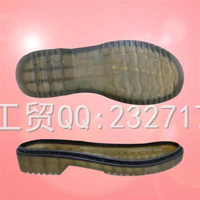 PVC成型外销欧系0100-01透明休闲女款