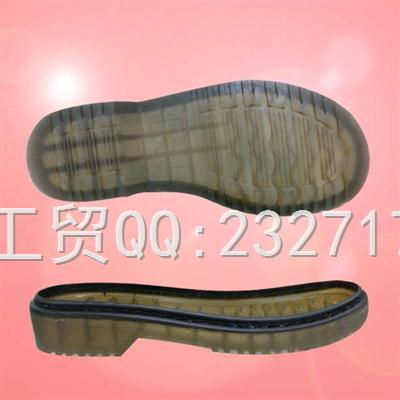 PVC成型外销欧系0100-03透明休闲女款