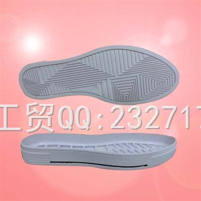 RB橡胶成型1060-F1321/34-39#女款休闲运动系列鞋底