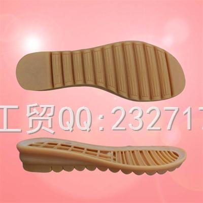 RB橡胶成型H-20523女款凉鞋系列鞋底