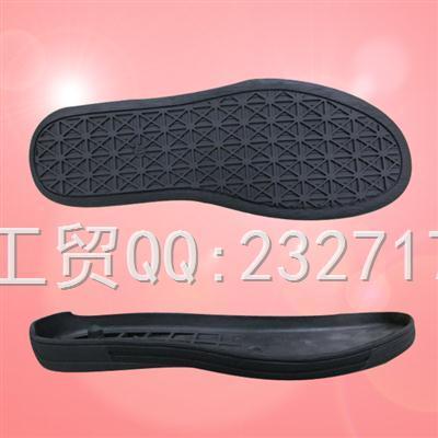 TPR外销休闲成型底k-8709/40-45#(5mm)运动户外系列