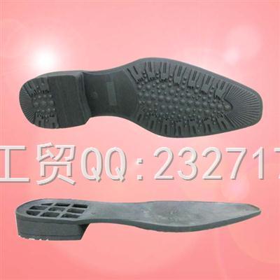 TPR外销绅士休闲成型底k-005/40-45#(5mm)男款