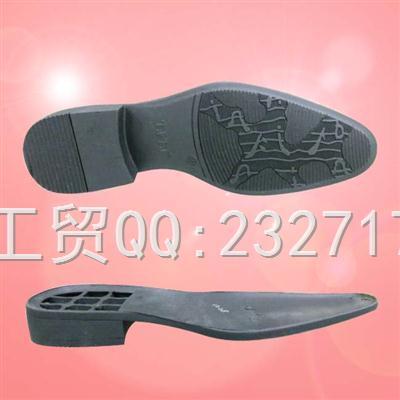 TPR外销绅士成型底k-060/39-45#(5mm)男款