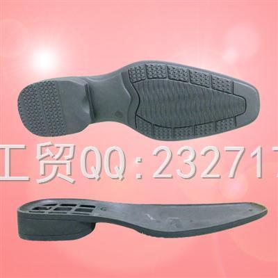 TPR外销绅士成型底k-6862/39-46#(5mm)男款
