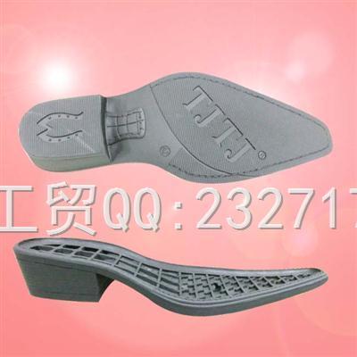 TPR外销绅士成型底k-8675/39-46#(5mm)男款