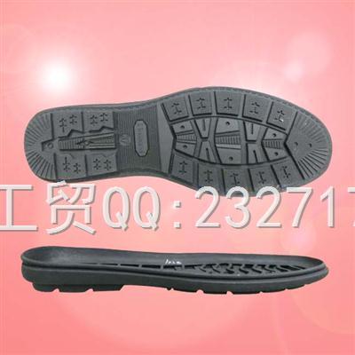 TPR外销欧线休闲女款k-1538/35-41#(5mm)成型底