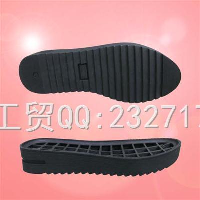 外销欧线TPR休闲户外女款066-9189/36-41#(5mm)成型底