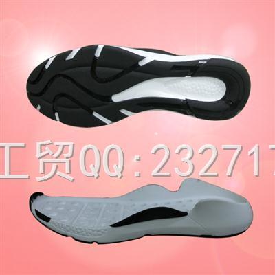 流行PU聚氨酯+TPU组合男款k-1640/38-43#休闲运动鞋底