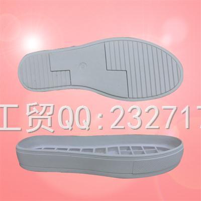 流行RB橡胶女款运动休闲系列s-6851/35-40#成型底