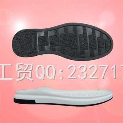 新款运动时尚休闲男底PU聚氨酯+RB橡胶043-85230/38-43#