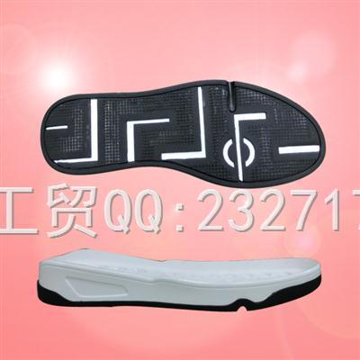新款休闲男底PU聚氨酯+TPU组合k-1697/38-43#