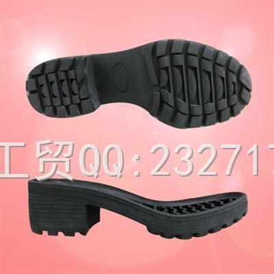 新款RB橡胶舒适休闲成型底067-9935/35-39#
