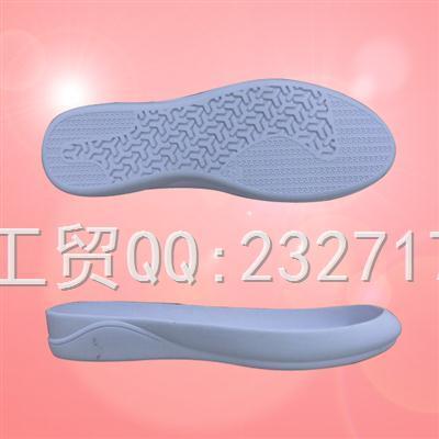 新款RB橡胶舒适休闲1060-F1551/35-39#成型底
