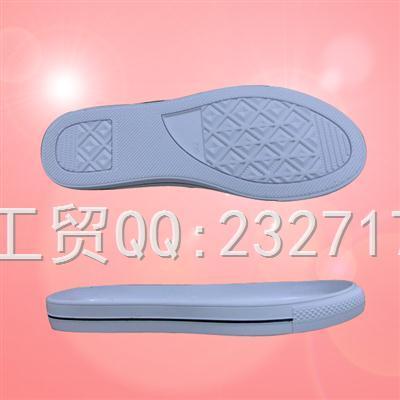 新款RB橡胶舒适休闲1060-F1582/35-39#成型底