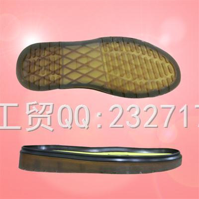新款PVC休闲马丁靴男款010-2133/38-43#成型底