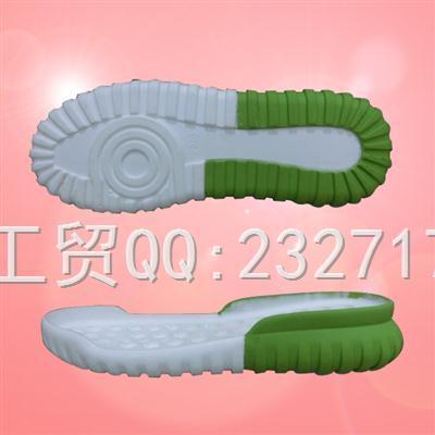PU聚氨酯+RB橡胶组合运动休闲系列女款017-8008/35-40#