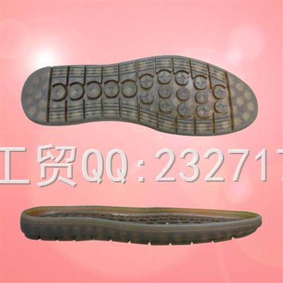 PVC透明底马丁靴系列男款C-2189/38-43#