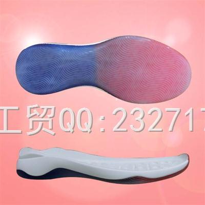 PU聚氨酯+透明运动休闲系列男款E-6055/38-43#