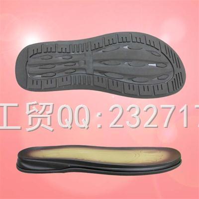 沙滩鞋男款PU聚氨酯+RB橡胶组合AD-7060/38-43#