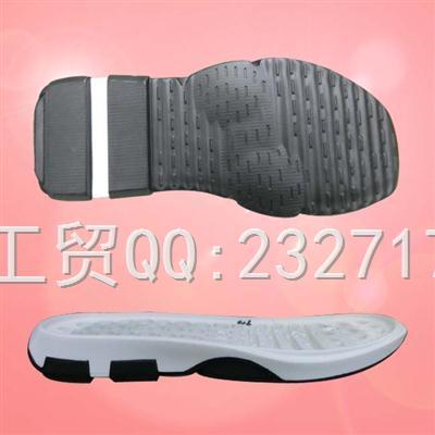 沙滩鞋男款PU聚氨酯AD-7039/38-43#