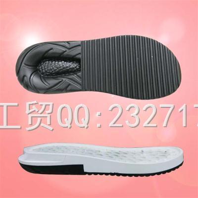 沙滩鞋男款PU聚氨酯C-3086/38-43#