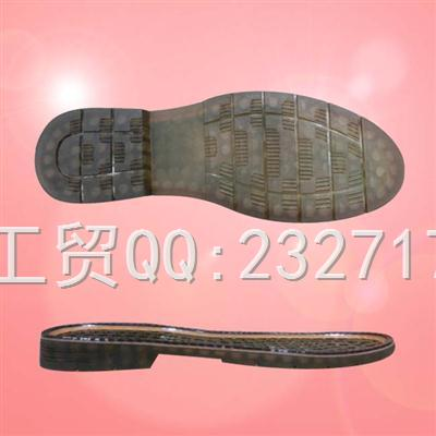 PVC透明2017马丁靴男款C-12001/38-43#