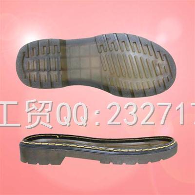 PVC透明2017马丁靴童、女、男款A2-6625/26-44#