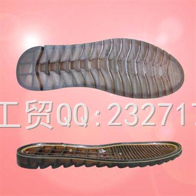 PVC透明2017男款马丁靴c-11007/38-43#