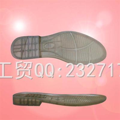 PVC透明男款I-901/38-43#春秋时尚休闲鞋2017热销系列