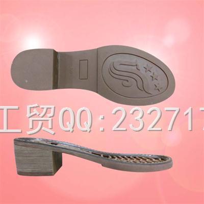 RB橡胶2017女款H-80879/35-40#时尚休闲系列