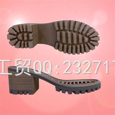 RB橡胶2017女款H-80923/35-40#时尚休闲系列