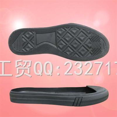 RB橡胶男款D-281/38-43#休闲板鞋系列