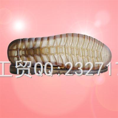 2018新款C-11007/38-43#PVC透明休闲男款