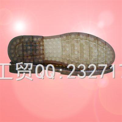 2018新款C-12001/38-43#PVC透明休闲男款