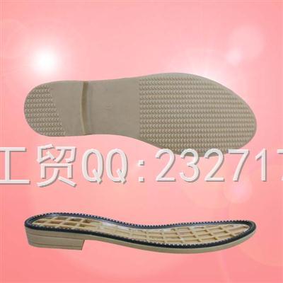 2018新款TPR女款k-2057/36-41(6.67mm)#舒适外销女鞋