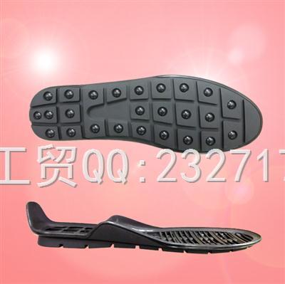 2018新款RB橡胶男款E-81083/38-43#豆豆鞋系列