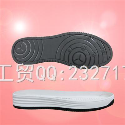 2018新款RB橡胶男款E-81159/38-43#休闲板鞋系列