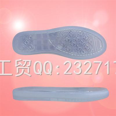 2018新款PVC透明M-M2015/34-40#时尚休闲女款系列