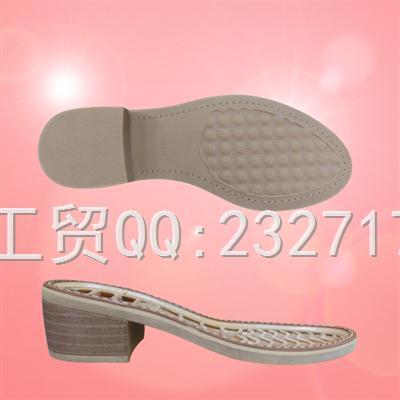 2018新款RB橡胶J-7697/35-40#休闲女鞋系列
