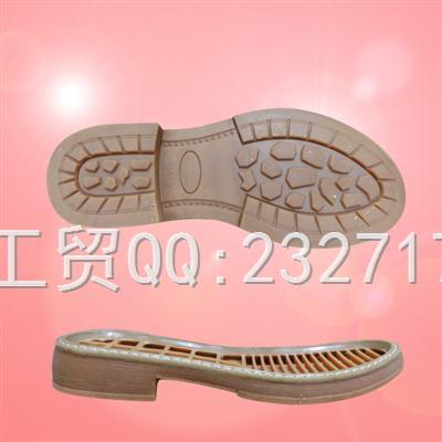 2018新款RB橡胶J-7711/35-40#休闲女鞋系列
